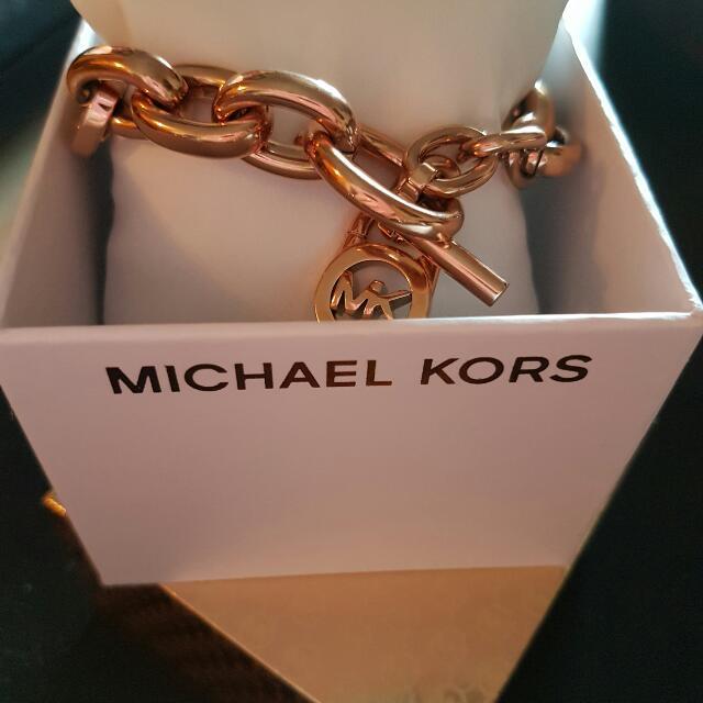 Michael Kors Gold Plated Bracelet