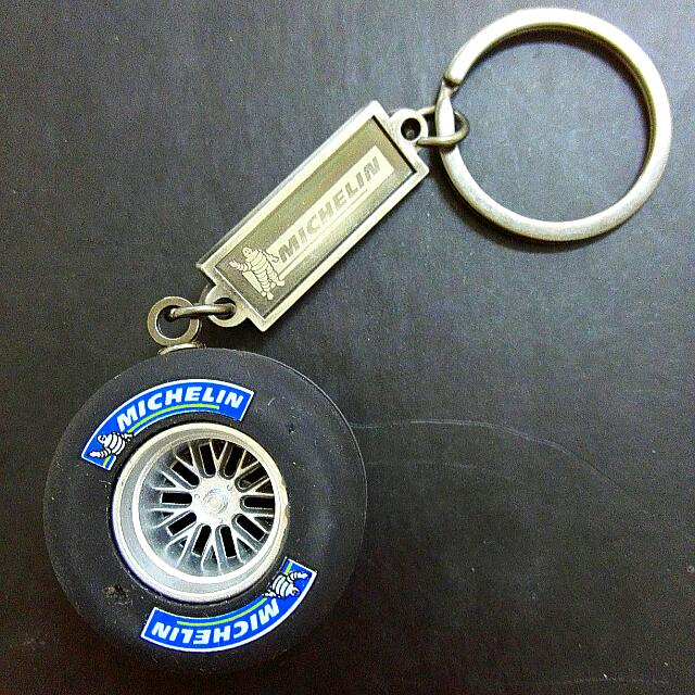 Michelin Rim Tyre Keychain Car Accessories On Carousell