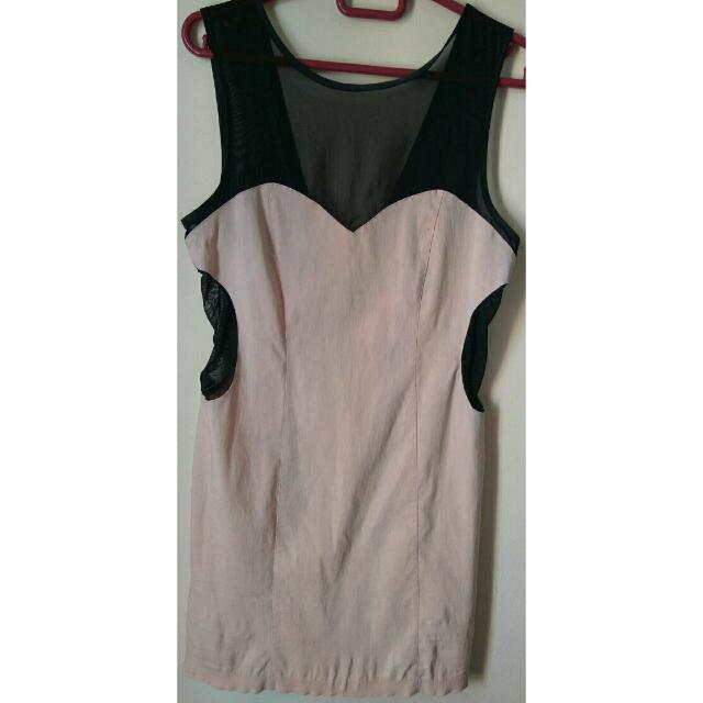 Miss Selfridge Pink Dress