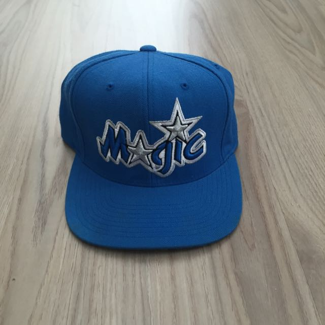 low priced adb39 e5948 Mitchell   Ness Orlando Magic Snapback 100% AUTHENTIC, Men s Fashion ...