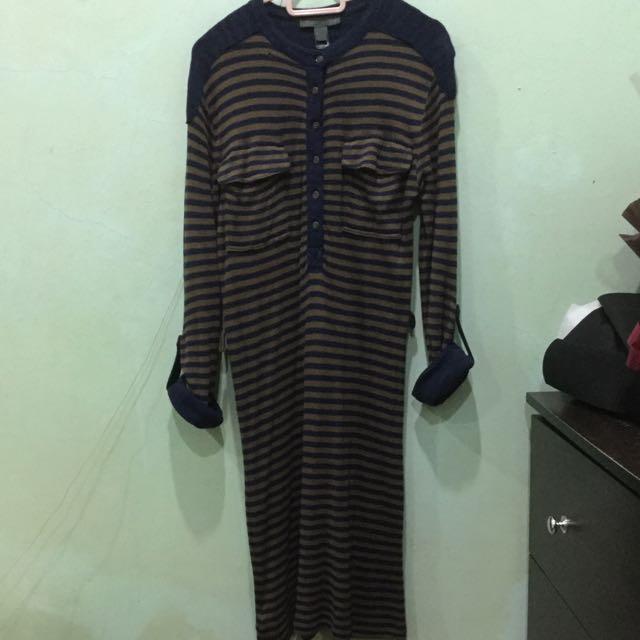 MNG Stripes Dress