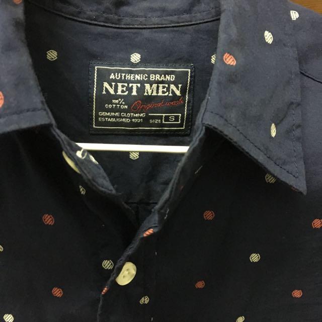 NET 純棉襯衫 s號