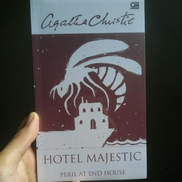 "NEW Agatha Christie ""Hotel Majestic Peril At End House"""