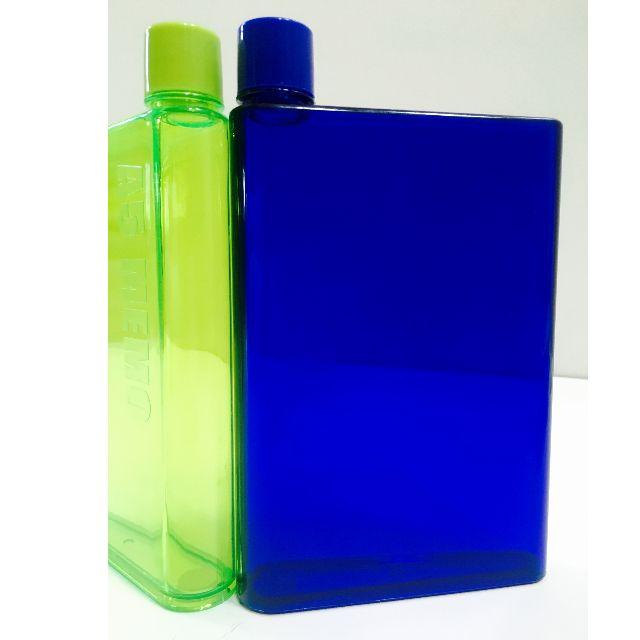 NEW! MemoBottle A5 Letter Reusable Water Bottles 420ml/ Botol Memo Air Minum Unik