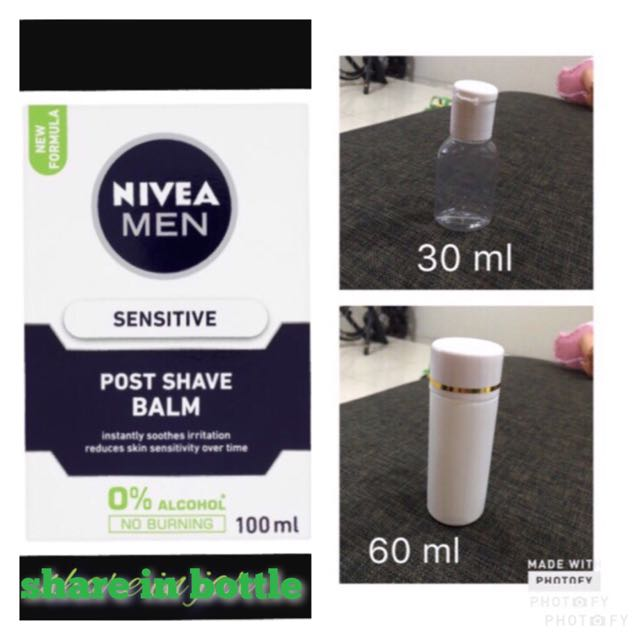 nivea as primer 30 ml and 60 ml (share in bottle)