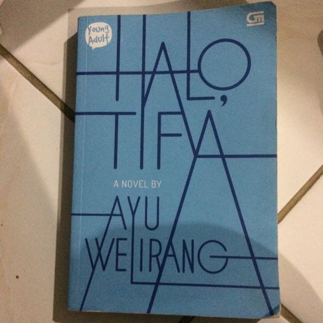 novel halo tifa