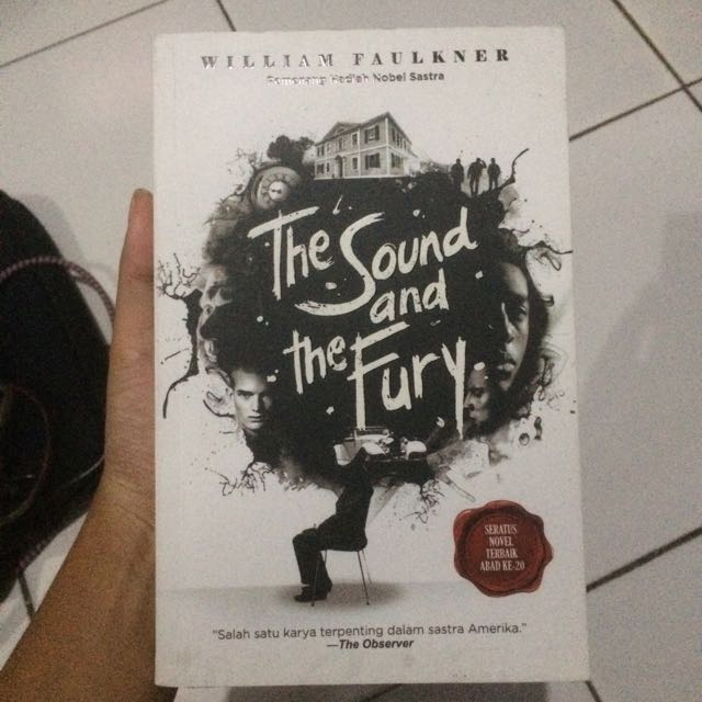 Novel Terjemahan The Sound and The Fury