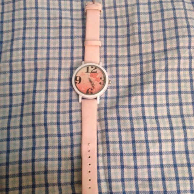 REPRICED PINK WATCH