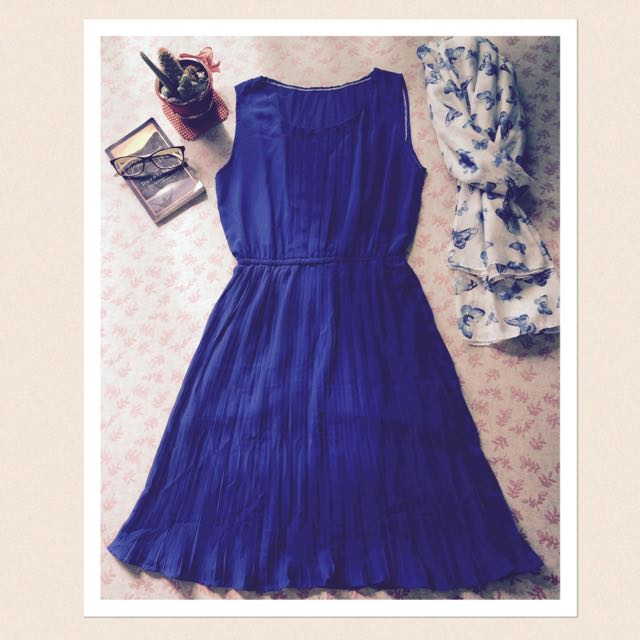 "PreLoved ""Royal Blue Dress"""