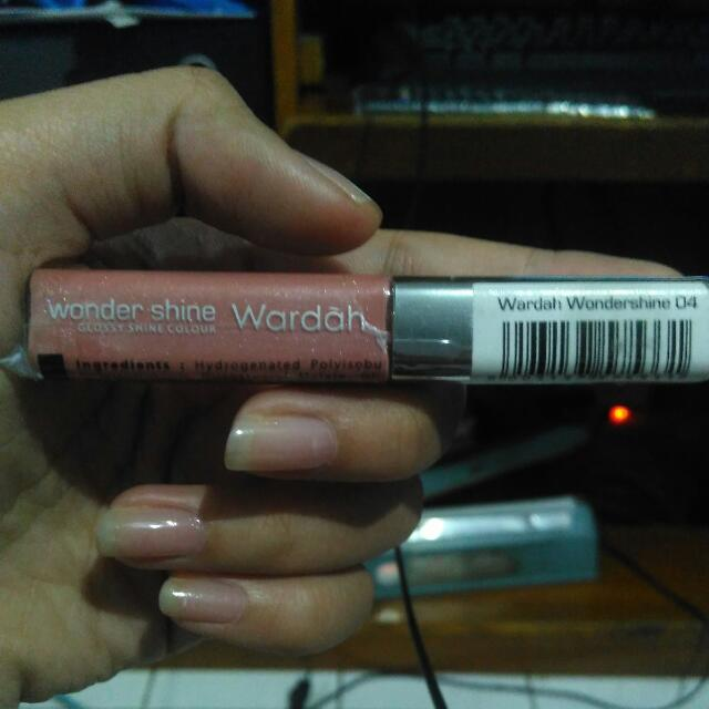 PRELOVED Wardah Wonder Shine Glossy Shine Colour