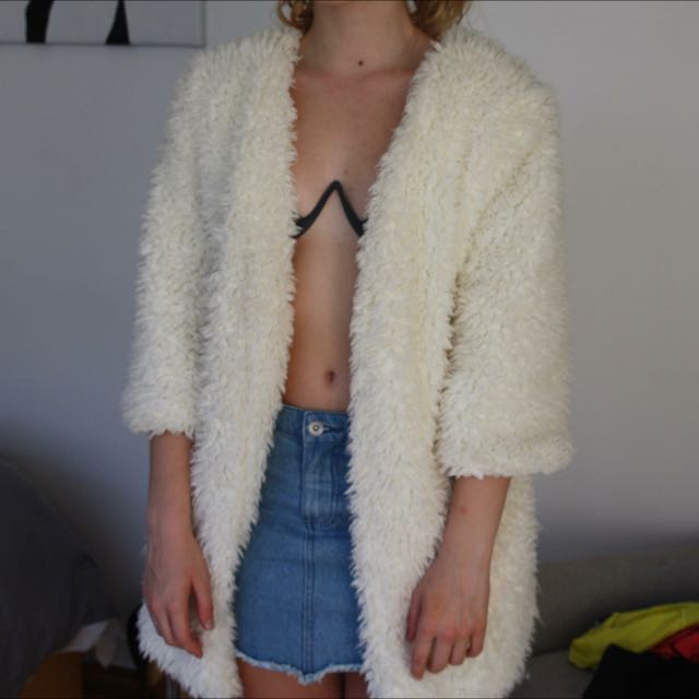 Princess Polly fluffy jacket