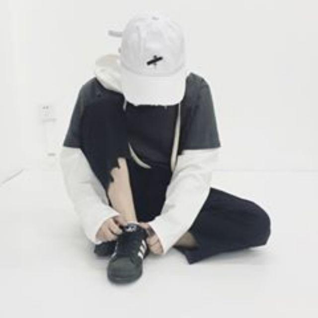 (預售優惠)sbradley訂製款兩色拼接連帽衛衣
