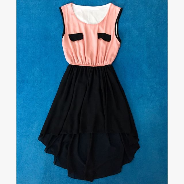 Short Dress w/ Tail