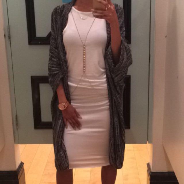 Size S Forever XXI White Halter Dress