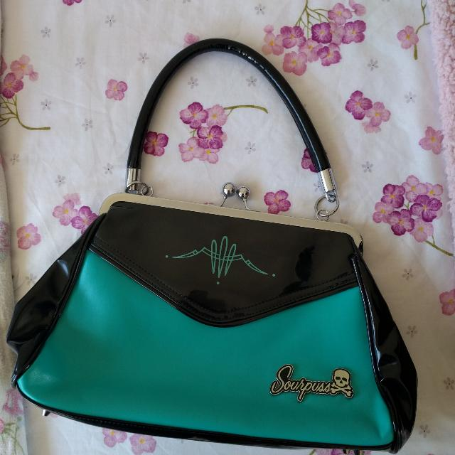 Pin Up Handbag Sourpuss Brand