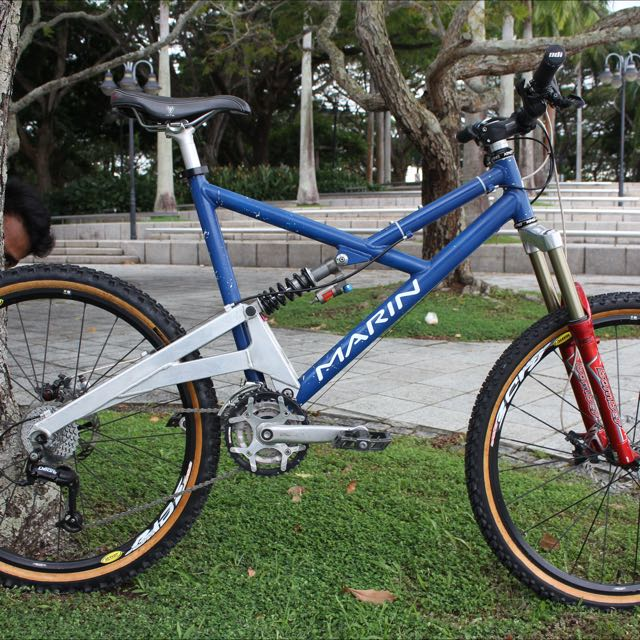 7ae0cdc580e 1998 Marin Downhill Mountain Bike, Bicycles & PMDs, Bicycles on Carousell