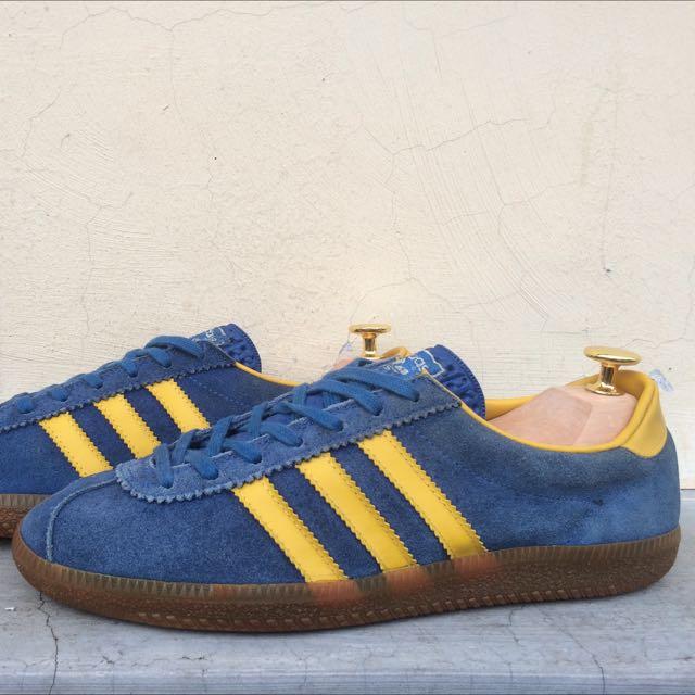 Vintage Adidas Stockholm, Men's Fashion, Footwear on Carousell