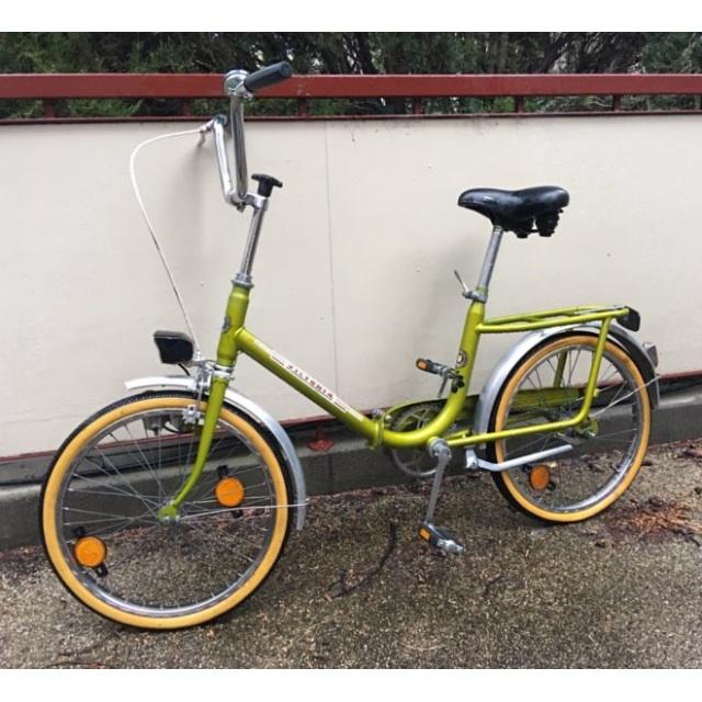 Vintage Folding Bike / German Brand Victoria