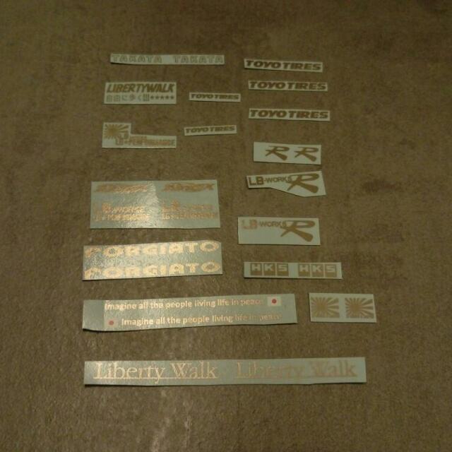 88d1fac08c Water-slide Decals For 1 18 Nissan Skyline Liberty Walk R35 GTR LB ...