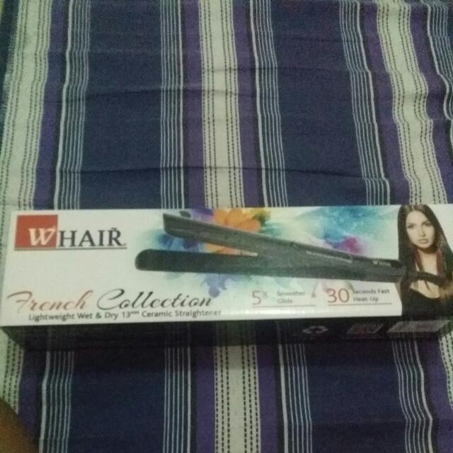 Whair Wet And Dry Ceramic Hair Straightener