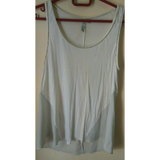 White Tanktop By Forever New