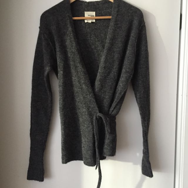 Wilfred - Ballet Wrap Style Sweater - Small
