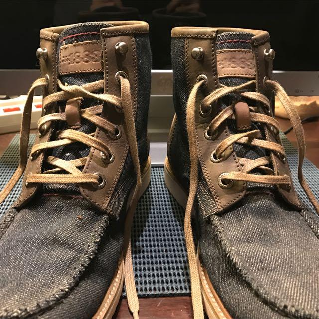 Wolverine 1883 Denim Boots - Mint Condition
