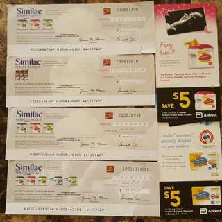 Similac Cheques And Coupons