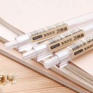 Minimalist transparent mechanical pencil