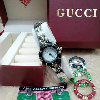 GUCCI SET with extra bezels