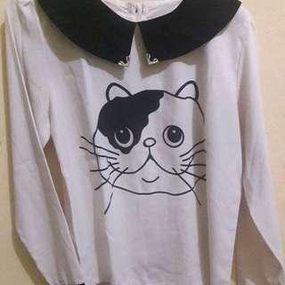 blouse kucing
