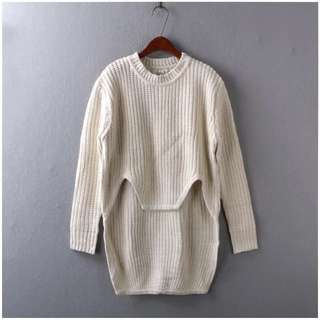 Special Cutting White Top For Winter With Free SF Express 順豐站自取