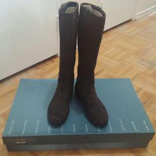 Geox Knee Legth Suede Boots