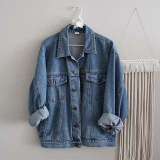 Vintage Oversize Boyfriend Denim Jacket