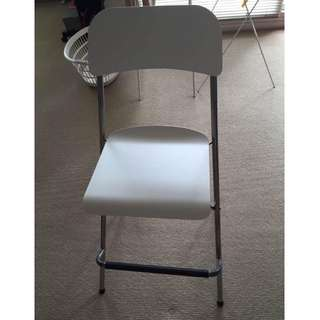 EXACTLY LIKE NEW Classy white bar stool