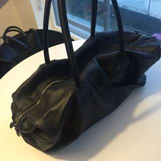 Leather Duffel Bag - Spinneybeck
