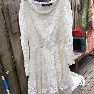 Hand Made Lace Dress