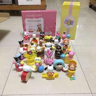 7-11 Hello Kitty & Friends Sweet Delight全套連兩個架