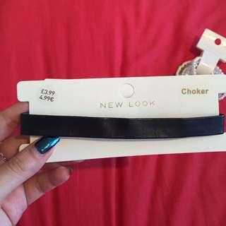 英國品牌New Look皮質頸鏈