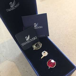 Swarovski Halley Ring Set