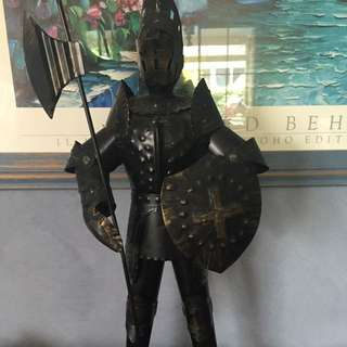 Cast iron Knight