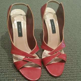 Marc Jacobs Red Shoes Size 6.5