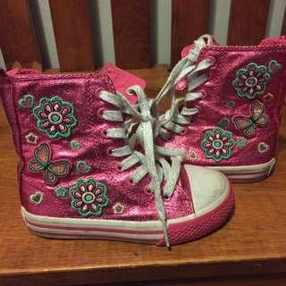 children's place boots size 9c