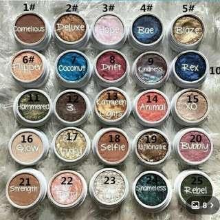 Makeup Colour Pop Eyeshadow Powder Durable Waterproof Cosmetic 32 Color  $10 Each