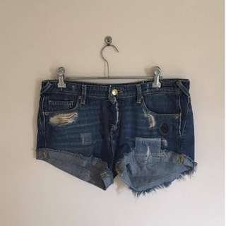 Sass & Bide, Torn Style SEEKERSTATE Shorts