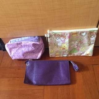 銀包+兩個化妝袋