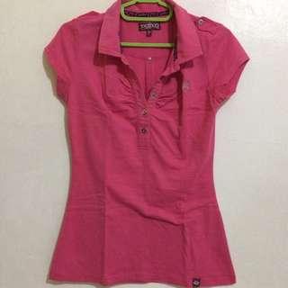 Jag Stretch Polo Shirt (pink)