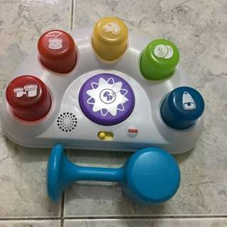Fisher Price Musical Hammer Toy