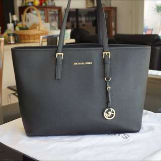 Authentic MK Jet Set Multi Functional Tote