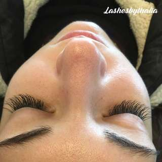 Eyelash Extensions And Perming